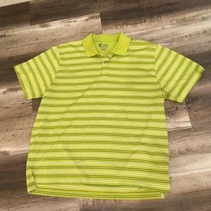 Izod Lime w/ Black & White Stripes Xtreme Function